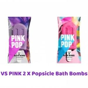 VS PINK DUO 2 X Popsicle Bath Bombs